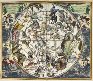 Title: Atlas Coelestis. Harmonia Macrocosmica seu Atlas Universalis et novus, totius universi creati Cosmographiam generalem, et novam exhibens Studio et labore Andreae Cellarii,
